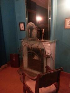 Il caminetto dove Gogol bruciò il secondo volume de Le Anime Morte