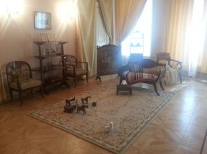 La stanza dei giochi dei bambini di Puskin