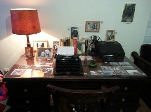 La scrivania dello studio americano di Josif Brodskij
